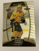 UPPER DECK 2019 - 2020 ALLURE- DANTE FABBRO  - ROOKIE #78 | 1 CARD