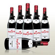 6 Fl. Torres Sangre de Toro 2015, Rotwein von Torres aus Spanien, trockener Wein