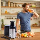 400W 1.8L Electric Steel Juice Extractor Machine Juicer Fruit Apple Carrot Maker photo