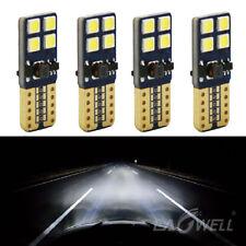 4PCS Canbus T10 194 168 W5W 3030 8 LED SMD White Car Side Wedge Light Lamp Buld