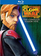 Star Wars: The Clone Wars - Season 5 [Blu-ray] DVD, Various, Various
