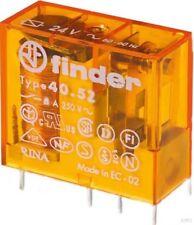 Finder Enchufe/Printrel. 230VAC2W 8a Cuadrícula 5mm Oro-K. 40.52.8.230.5000