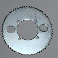 E-Scooter Parts 65T Tooth Sprocket Cog 25H Chain Drive Plate Steel Rear Sprocket