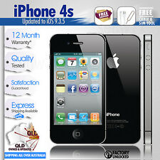 Apple iPhone 4s-16GB-Black-Super Fast Shipping-100% Just Like New, Unlocked,Mint