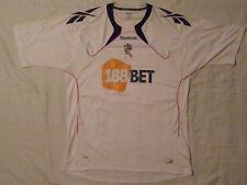 Bolton Wanderers BENNETT 30 Reebok vintage t-shirt jersey season 2010-11 size XL