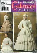 S 4900 sewing pattern GWTW Civil War DRESS JACKET COAT sew Lovely 10,12,14,16,18