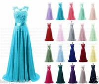 Plus Size Long Bridesmaid Dresses Formal Party Cocktail Ball Evening Prom Gowns