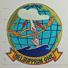 Original vintage Navy Helicopter HC-1 / HELSUPPRON ONE squadron patch 1960'