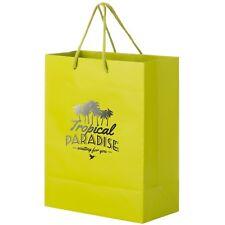 100 Custom Matte Laminated Euro Tote Bag Printed With Logo Message 8 X 4 X 10