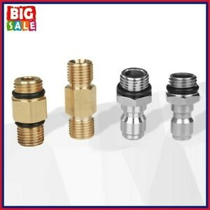 Pressure Washer Quick Connector Snow Foam Lance Adapter Nozzle G1/4 M14x1.5