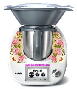 Thermomix TM5 Sticker Decal  (Code: Floral 31)