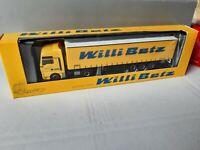 MAN TGX 12060 RT    WILLI BETZ   33014 NL  Schmitz Cargobull     Werbemodell