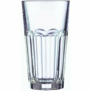 Arcoroc Gotham Fully Tempered Cooler Glass 16 Ounce - 36 per case.