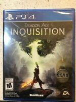 Dragon Age Inquisition ps4 sealed free shipping RPG sony