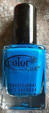NEW COLOR CLUB POPTASTIC CHELSEA GIRL NAIL POLISH LACQUER NEON BLUE