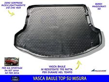 VASCA BAULE AUTO TAPPETO KIA SPORTAGE 2010-2016 IN GOMMA PER BAGAGLIAIO KIT CON