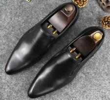 Stylish Mens Business Casual Dress Pointy Toe Loafers Wedding Work Slip On Shoes