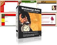 Webdesign Suite - über 300 Web-Templates-Vorlagen - inkl. Master Reseller Lizenz