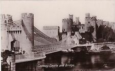 The Castle & Bridge, CONWAY, Caernarvonshire RP