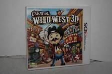 CARNIVAL WILD WEST 3D USATO OTTIMO NINTENDO 3DS VERSIONE ITALIANA GB3 51788