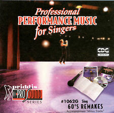 Sing 60's Remakes by Karaoke (CD, Nov-1998, Priddis) NEW