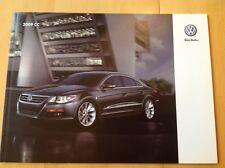 2009 CC VW Volkswagen Catalog Brochure Book VR6 Sport ESP 4Motion Sirius