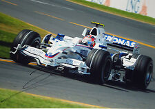 Robert Kubica , XL 16x12 SIGNED BMW-Sauber  , Australian GP Melbourne 2009