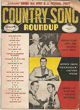 Country Song Roundup Magazine APR 1956 Arthur Smith - Johnny Cash