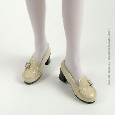 1/6 Scale Phicen SS, Hot Toys, ZC, NT Female Platform Lite Beige Loafer Shoes
