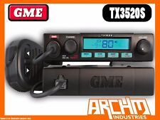 GME TX3520S UHF CB RADIO- 80CH 5 WATT COMPACT REMOTE MOUNT SCAN SUITE