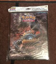 Ultra Pro Pokemon TCG 9 Pocket Portfolio Sun & Moon: Crimson Invasion GUZZLORD