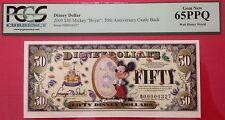 "2005D $50 Mickey ""Boyer"" Disney Dollar, PCGS Graded Gem New 65PPQ D00000327"