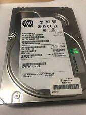 """1TB Seagate ST1000NM0011 HP MB1000EBZQB 3.5"""" SATA Hard Drive 649401-002 9yz164"""