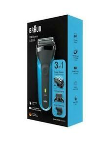 BRAND NEW BRAUN S3 SHAVE & STYLE 310BT RECHARGEABLE MENS SHAVER TRIMMER BNIB