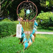 Ricdecor Indian Dream catcher Wind Chimes Feather Pendant wall hanging home d...