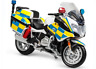 MAISTO 1:18 BMW R1200RT UK R 1200 RT Police MOTORCYCLE BIKE DIECAST MODEL
