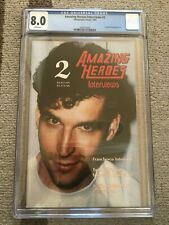 1993 Amazing Heroes Interviews #2 Todd McFarlane Photo Cover CGC 8.0 White Pages