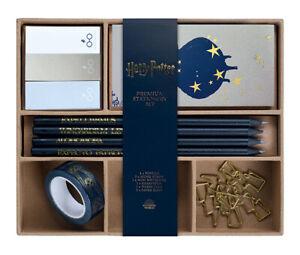 Official Harry Potter Hogwarts Stationery Set Pencil Sticky Notes