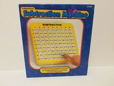 Lakeshore Subtraction Math Machine Educational with Pop Up Answers Homeschool