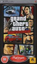 Grand Theft Auto Liberty City Stories Sony PSP GTA Platinum * New & Sealed *