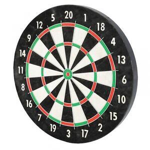 Pro Wire Bristle Dartboard Tournament Play 18 Inch Diameter Black Background