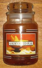 Yankee Candle - 22 oz - GOLDEN SPICED PEAR - Black Band - HARD TO FIND!!