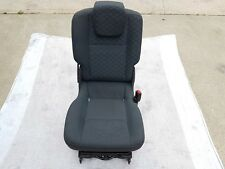 2012 RENAULT SCENIC DRIVER SIDE REAR SEAT