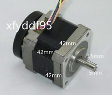 2-Phase 6-Wire 1.8° Stepping Motor 42 Stepper Motor 15mm Shaft For 3D Printer