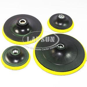 Polisher Bonnet Backing Pad Angle Grinder Wheel Disc 100 125 150 180 mm 4 6 inch