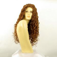 Parrucca donna ricci lunga biondo rame : EVA 27