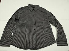 Hip Length Fitted Striped Tops & Shirts for Women