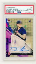 2021 Topps Finest Tanner Houck Superfractor Auto RC 1/1 PSA 10 Boston Red Sox