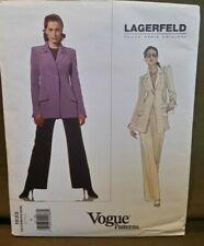 Vogue Paris Original Pattern 1633 Lagerfeld Sz 6 Uncut