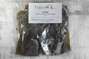 Seaweed Dried Kombu Organic Kelp Superfood picked and natural dried in Scotland